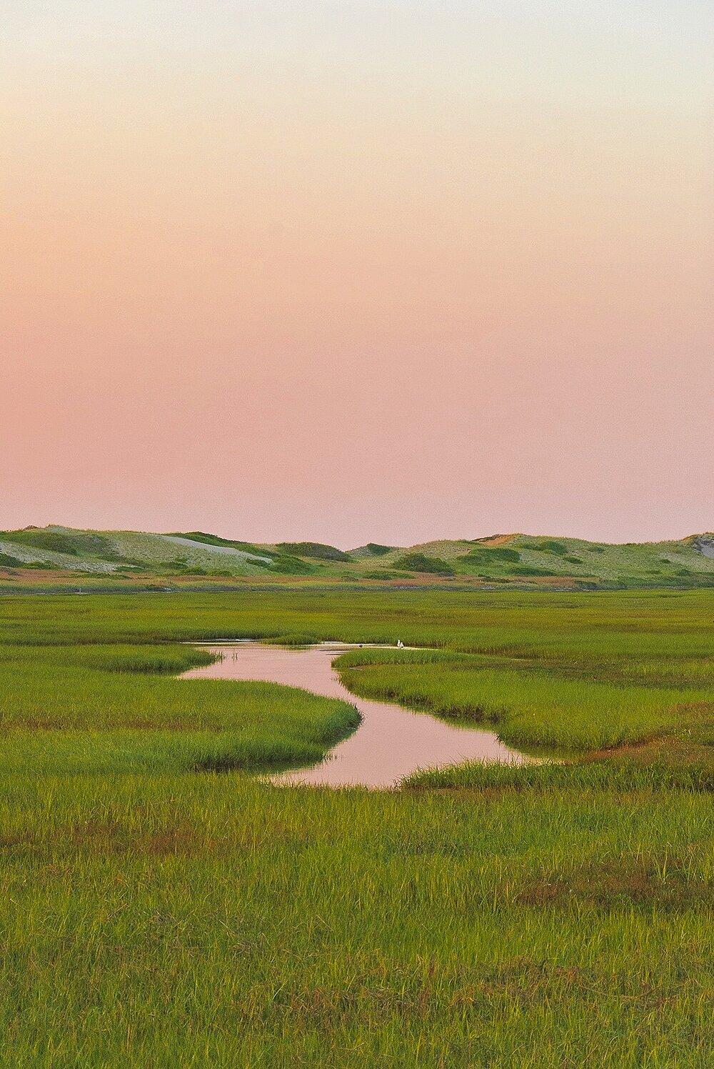 Cape Cod Evening Light - Cape Cod National Seashore, Massachusetts