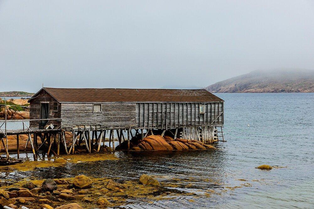 The Fishing Stage - Fogo Island, Newfoundland