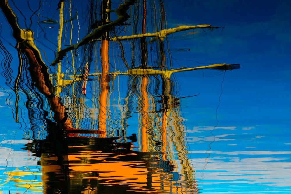 Schooner Reflections