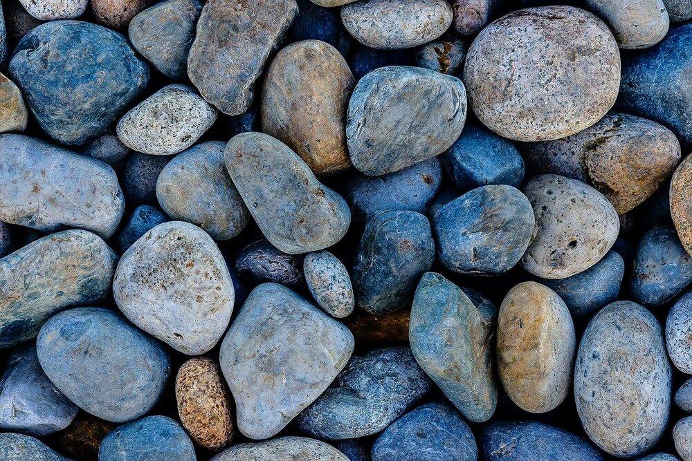 Beach Mosaic - Fogo Island, Newfoundland