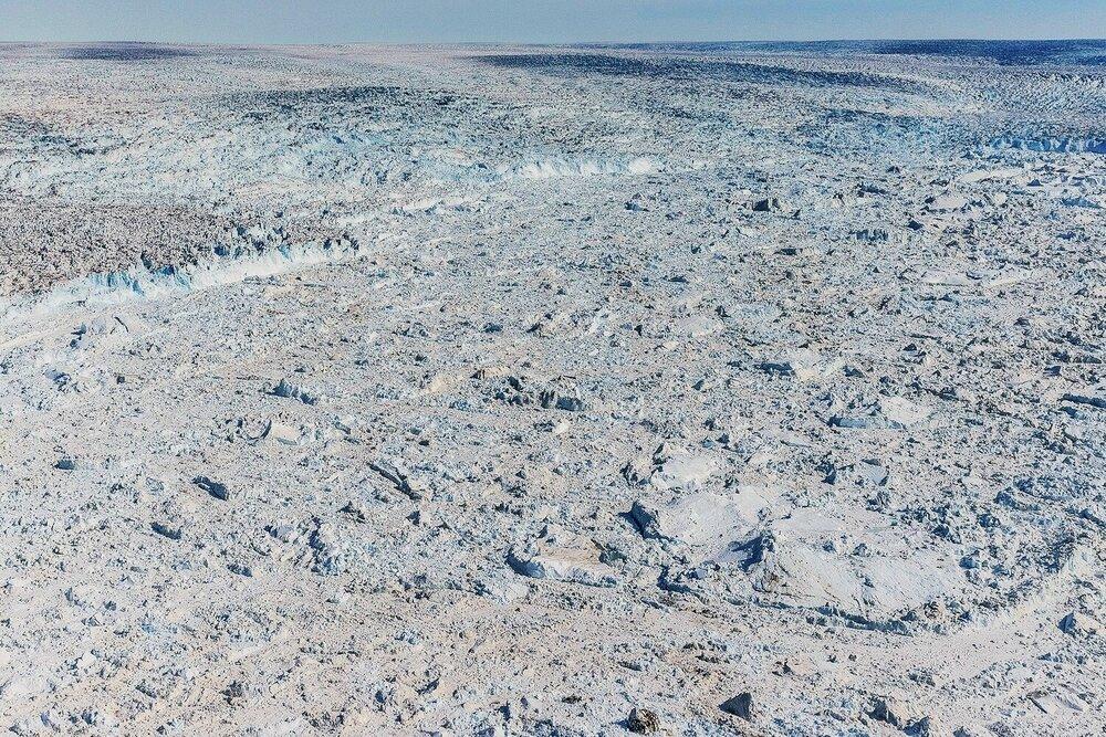 Ice Breaking From the Jakobshavn Glacier - Ilulissat, Greenland
