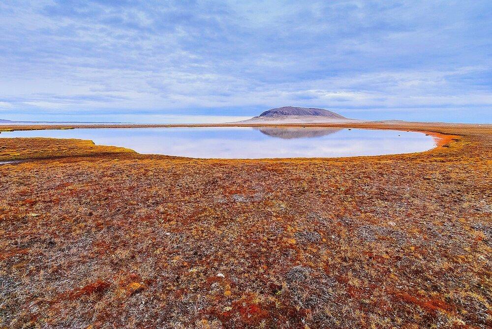 The Tundra Pond - Baffin Island, Nunavut, Canadian Arctic