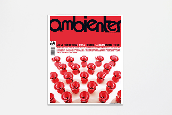 Ambientes | 2010 Magazine Cover