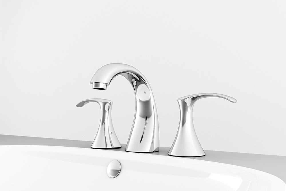 Mezcladora de taladros separados para lavabo YAZ®