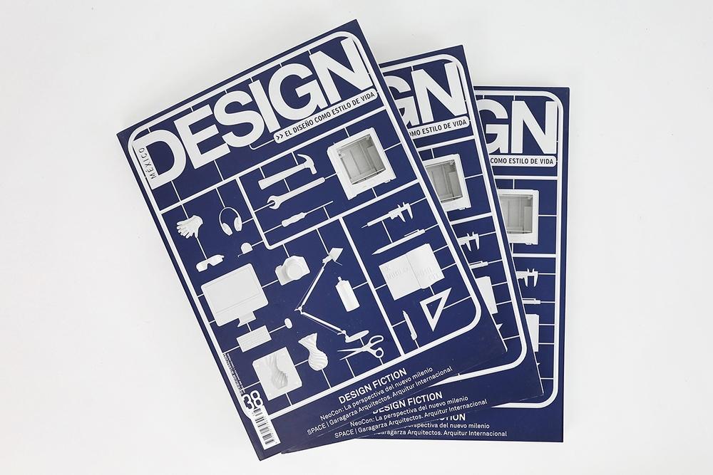 Nos invitaron a diseñar la portada de la edición número 38 de la revista México DESIGN.