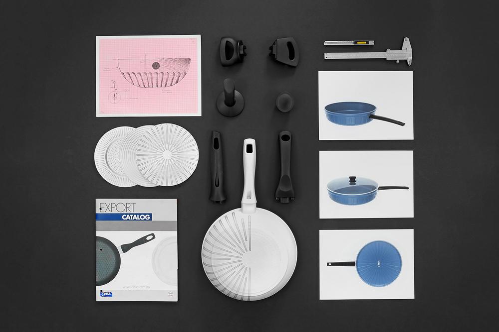 Selección de accesorios de baquelita.