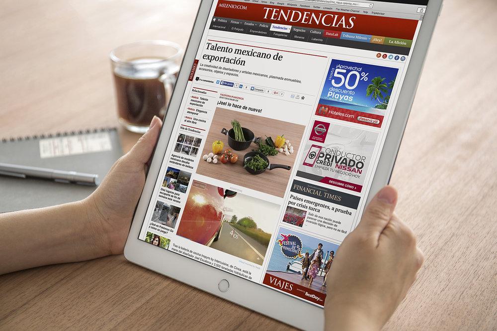 Inspyro para CINSA, ha llegado a la edición del 20 de julio del periódico Milenio. 20 Julio — 2016