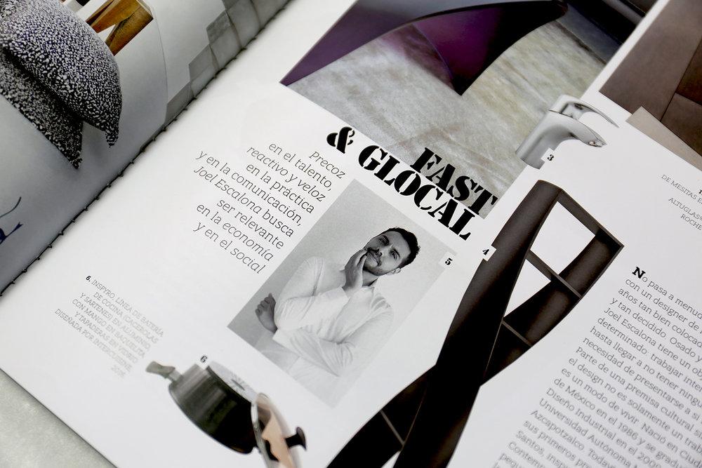 En el especial de Diseño Mexicano de INTERNI MAGAZINE