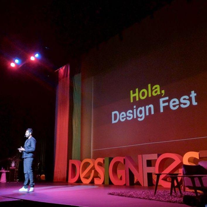 Conferencista invitado a DESIGN FEST en Guadalajara.