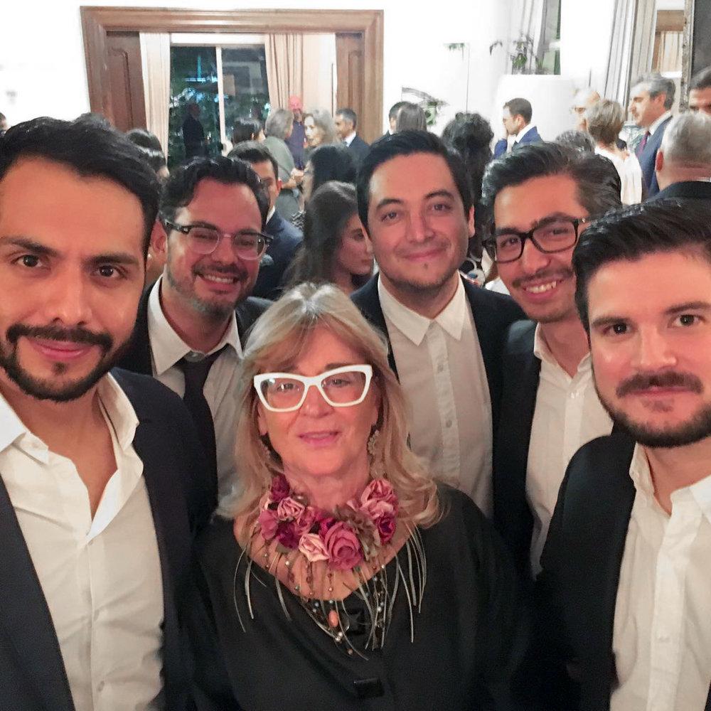 Con Gilda Bojardi, editora de INTERNI.