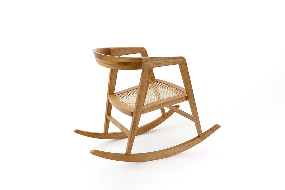Poltrona Rocking Chair para The Chair That Rocks — Seleccionado Oficial