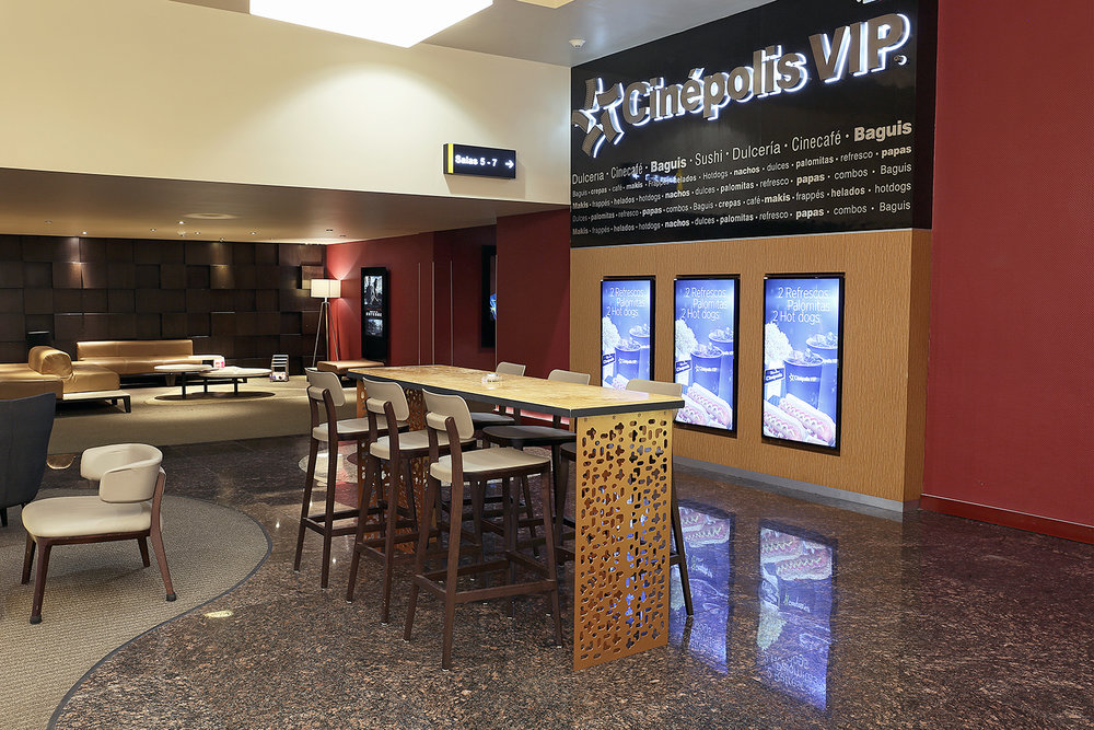 Mobiliario Lobby VIP