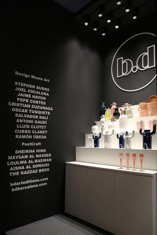 Dalia para   BD Barcelona   exhibida en el Salone Del Mobile en Milan