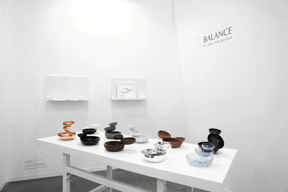 Presentamos   BALANCE  , la nueva colección de   ediciones  personales de Joel, en   Zona Maco  , la feria líder de arte contemporáneo y diseño en América Latina
