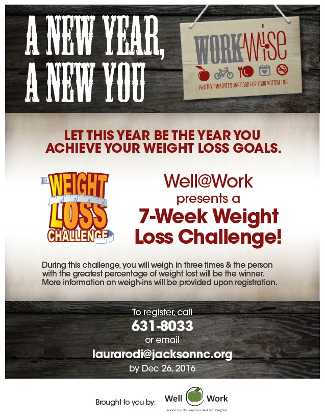 wellwork monthly challenge weight loss