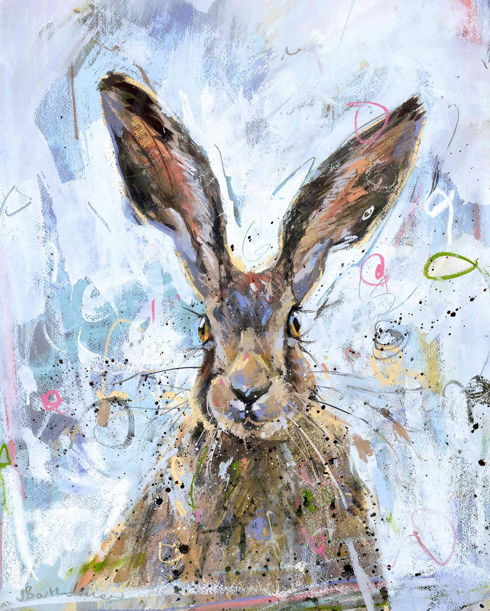 Hare   © James Batholomew  jamesbartholomew.co.uk
