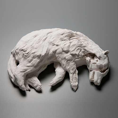 Badgered © Kate MacDowell katemacdowell.com