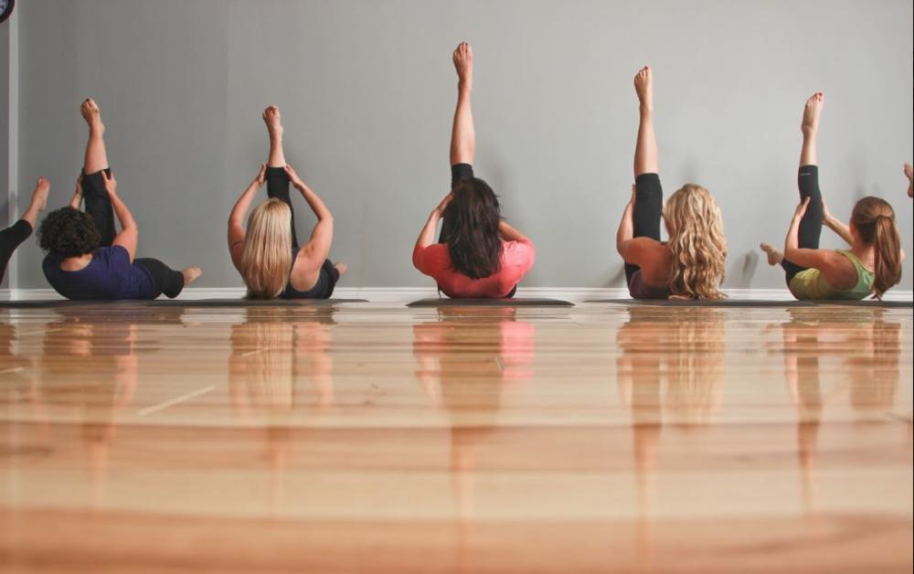 Pilates legs up