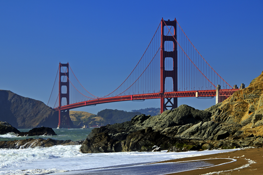 Golden Gate, from Baker Beach