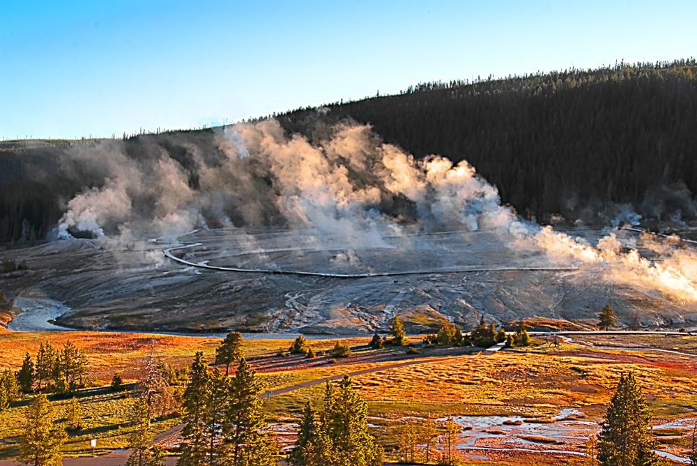 Geyser Basin - 5, Yellowstone