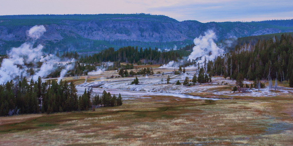 Geyser Basin - 3, Yellowstone