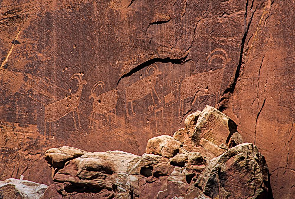 Petroglyphs, Capitol Reef Nat Park - 2