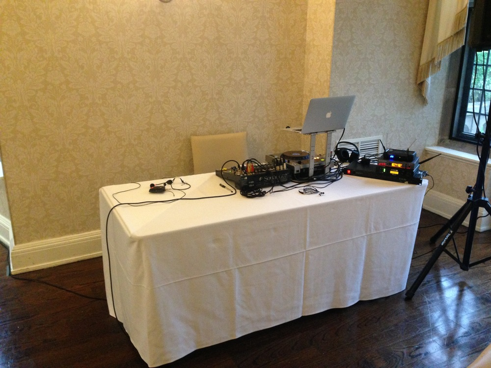 DJ services at private party, Vaughan Estates, Toronto, Ontario
