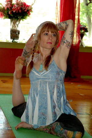Emma Emma has been in love with yoga from the moment she went to her first class 20 years ago.  The yoga was in her village community hall in England.  Her teacher was 72 years old and such an inspiration to her, then and now.  She's been addicted ever since.  When she moved to the States 17 years ago she decided she wanted to share this amazing gift and decided to become a teacher.  Emma studied at Kripalu and is a certified Kripalu teacher, also taking classes with Baron Baptiste and completing her vinyasa teacher training from Shivea Rea.  In her classes Emma includes many elements that inspire her teachings, including Iyengar, Kripalu, Ashtanga, Vinyasa.  She knows she sounds clichéd, but she says yoga has really saved her life - many times over!  She says yoga isn't just about what your body and mind do when they're in the class and on the mat, but more about how you use your yoga in your everyday life off the mat. Yoga, she feels, should be a soulful, fun and purely joyous way to discover the incredible home we live in called our body.   Emma's philosophy is not to take yourself too seriously (but always take the Art of Yoga seriously) and she encourages this in her engaging, playful and relaxed environment which is full of self-discovery and fun classes.