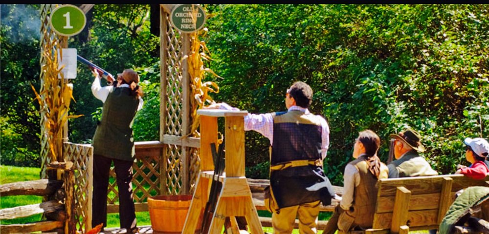 Clay Course Shooting at Orvis Sandanona