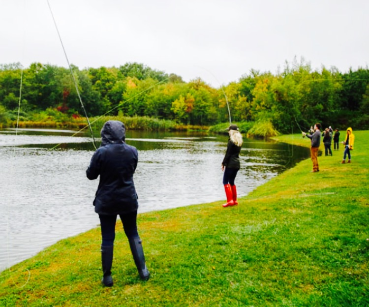 Fly Fishing at Orvis Sandanona