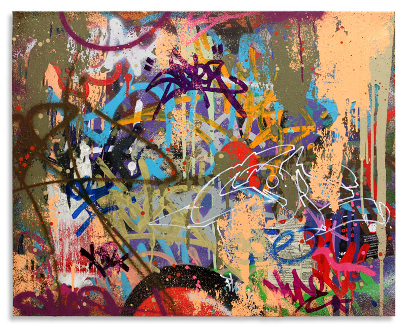"Break Mixed Media on Canvas 30"" x 24"" $2,250 Also Available on 1xRUN"
