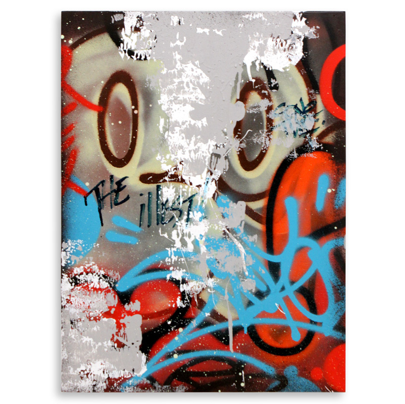 "The Illest Aerosol on Wood 18"" x 24"" $750 Also Available on 1xRUN"