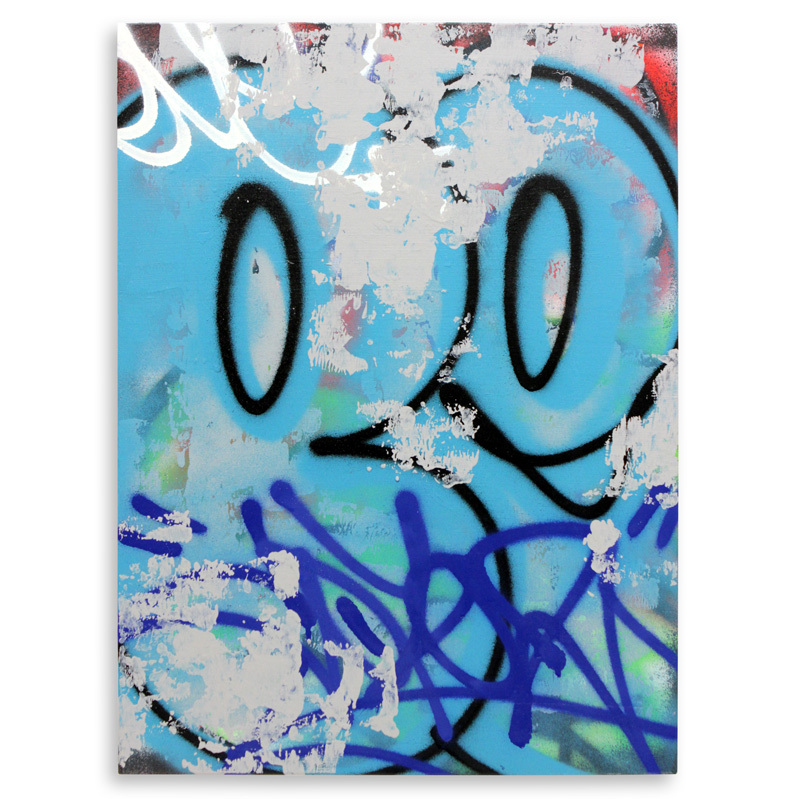 "Detroit Series 8 Aerosol on Wood 18"" x 24"" $750"
