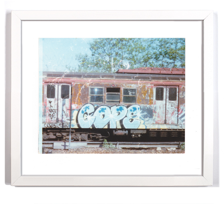 "Cope2 80's Subway Series 5 Signed Archival Pigment Print 1 Available 16"" x 14"" $175"