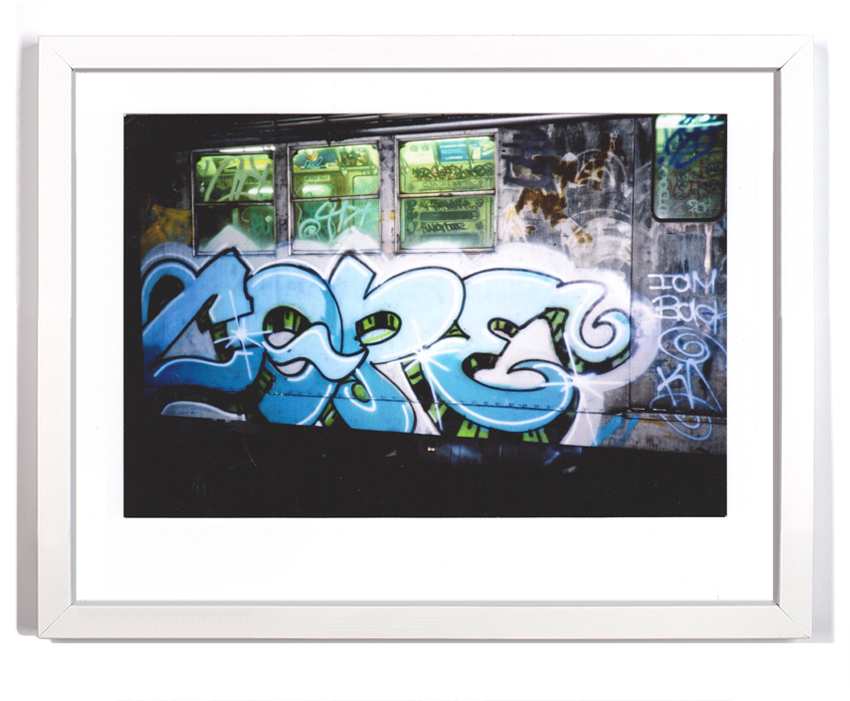 "Cope2 80's Subway Series 4 Signed Archival Pigment Print 1 Available 18"" x 14"" $175 SOLD"