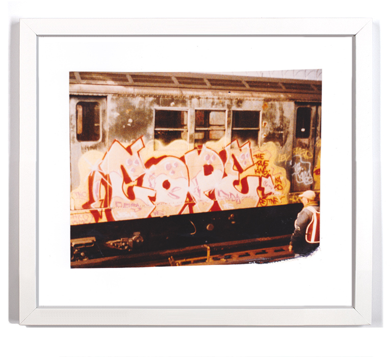 "Cope2 80's Subway Series 9 Signed Archival Pigment Print 1 Available Small: 10"" x 9"" - $125 SOLD Large: 16"" x 14"" - $175"