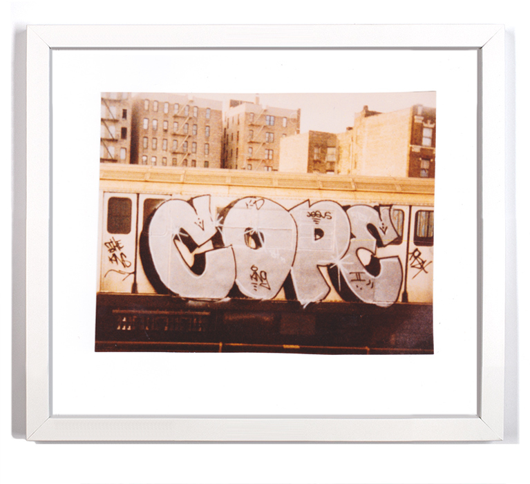 "Cope2 80's Subway Series 8 Signed Archival Pigment Print 1 Available Small: 10"" x 9"" - $125 SOLD Large: 16"" x 14"" - $175"