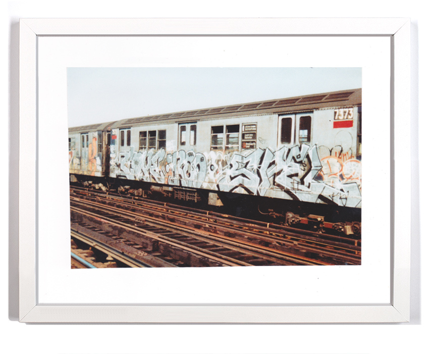 "Cope2 80's Subway Series 10 Signed Archival Pigment Print 1 Available 18"" x 14"" $175"