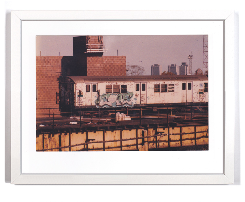 "Cope2 80's Subway Series 12 Signed Archival Pigment Print 1 Available Small: 11"" x 8"" - $125 Large: 18"" x 14"" - $175"