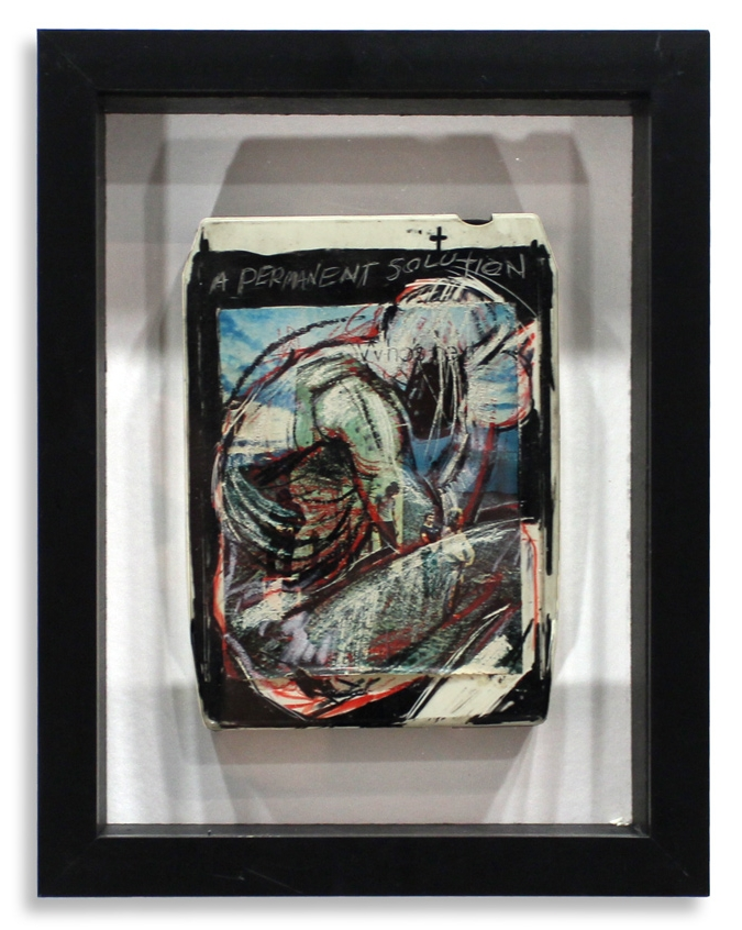 "The Who - 'Who's Next?'  Mixed Media on 8-Track 7"" x 9"" Framed in Shadowbox SOLD"