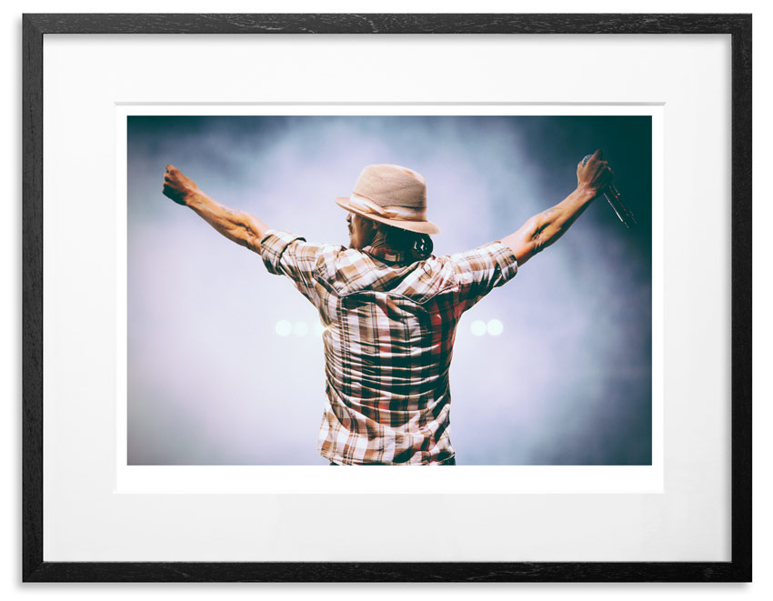 "Kid Rock - American Badass Archival Pigment Print on 300gsm Museum Grade 100% Cotton Rag 24"" x 18"" - Edition 21 - Purchase 66"" x 44"" - Edition 10 - Purchase"