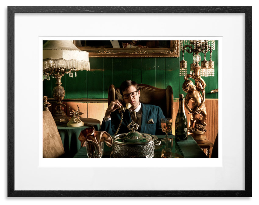 "Mayer Hawthorne - A Strange Arrangement   Archival Pigment Print on 300gsm Museum Grade 100% Cotton Rag   24"" x 18"" - Edition 21 -    Purchase    66"" x 44"" - Edition 10 -    Purchase"