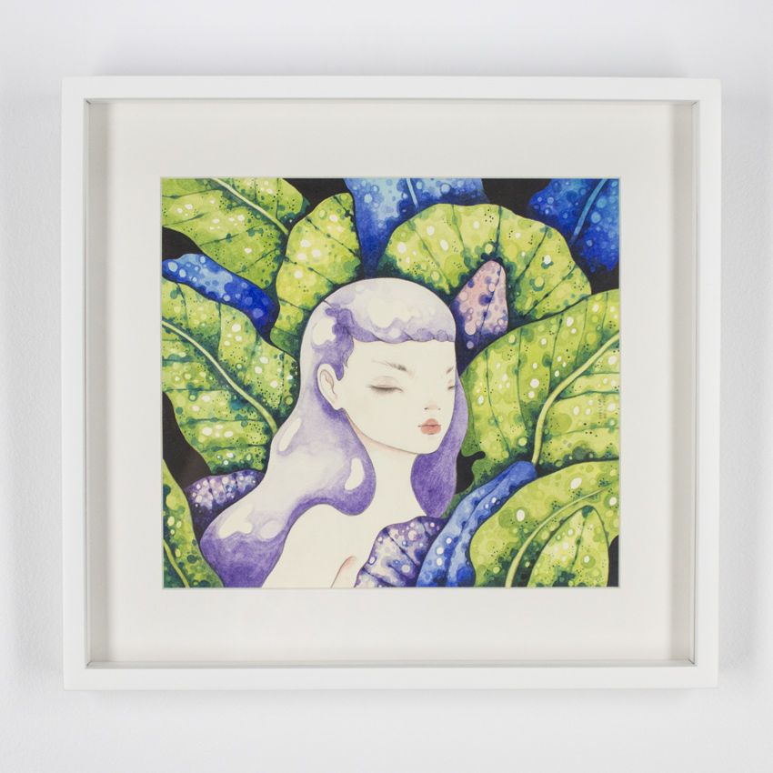 Violeta Hernández    Jungla común II  Watercolor and pencil on cotton paper 42 x 40 cm // 16 x 15.5 inches $600