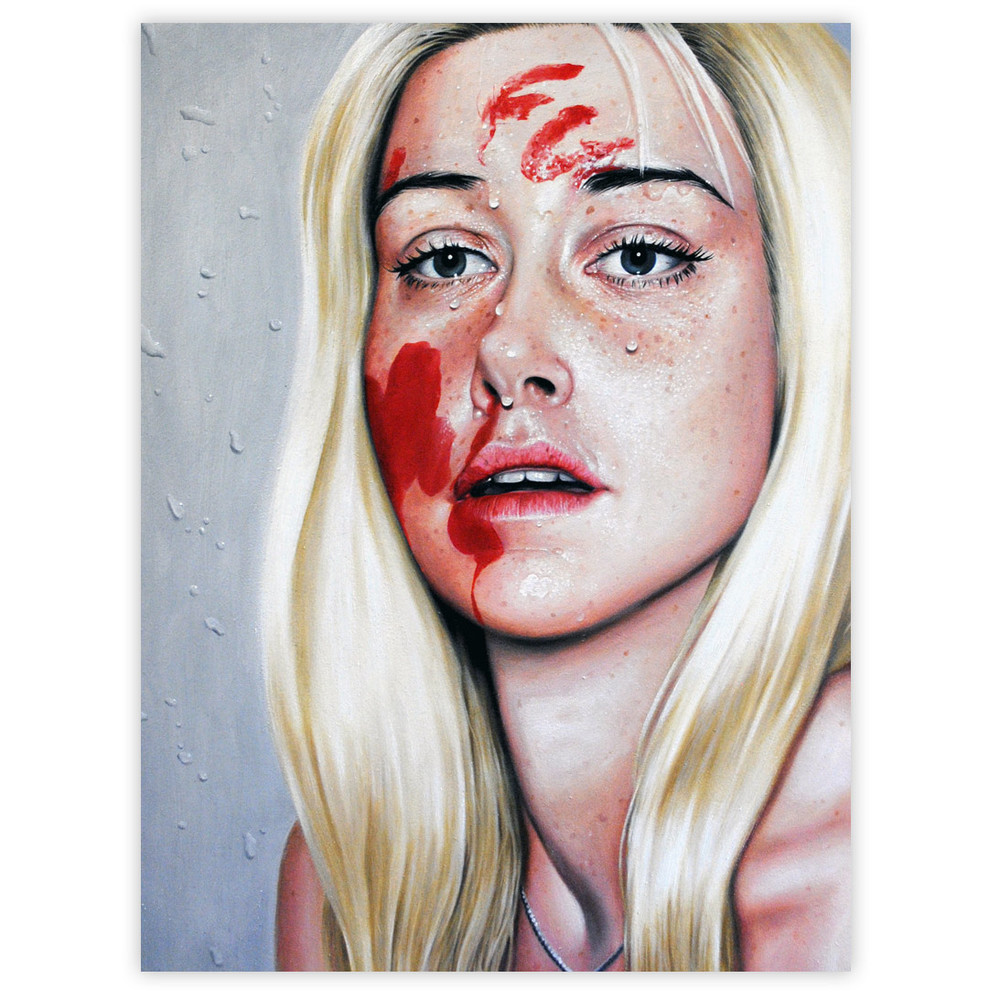Linnea Strid FU 15 x 19 Inches Oil on wood panel $1,700