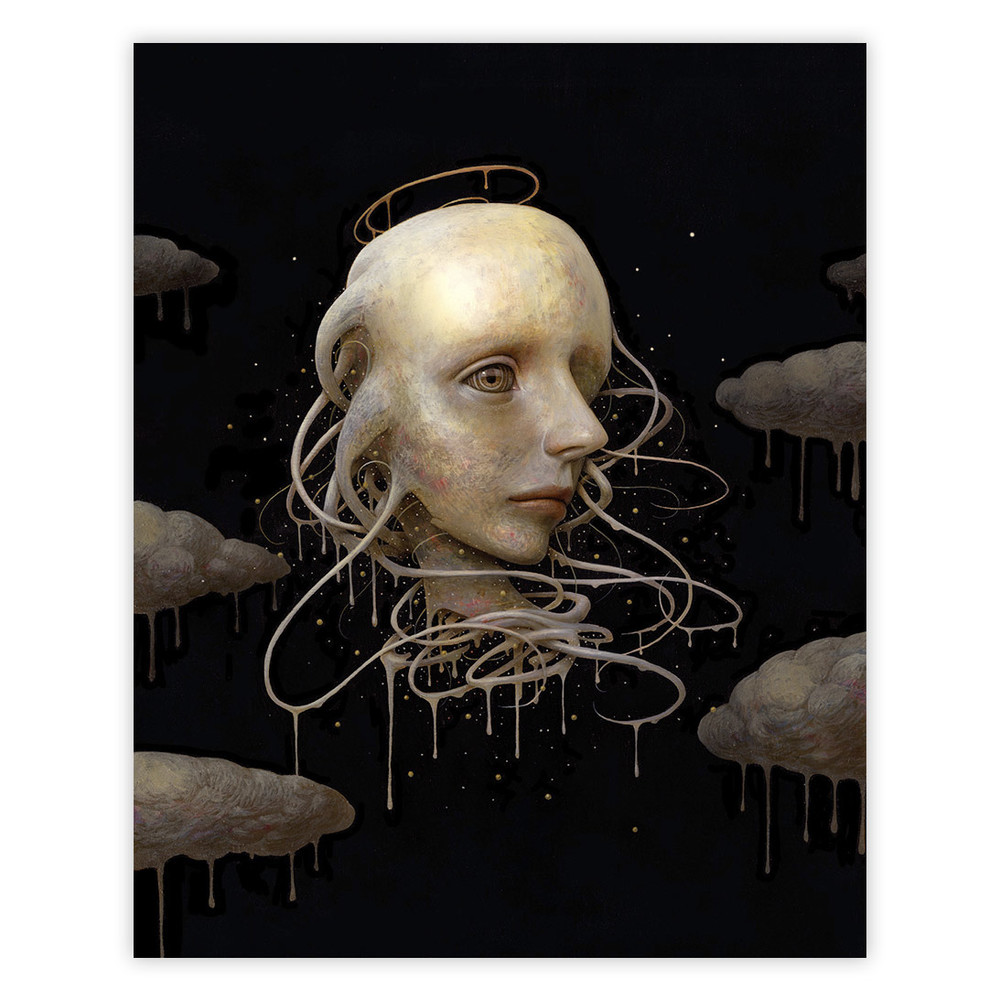 Naoto Hattori After Rain 16 x 20 Inches Acrylic on wood panel $2,000