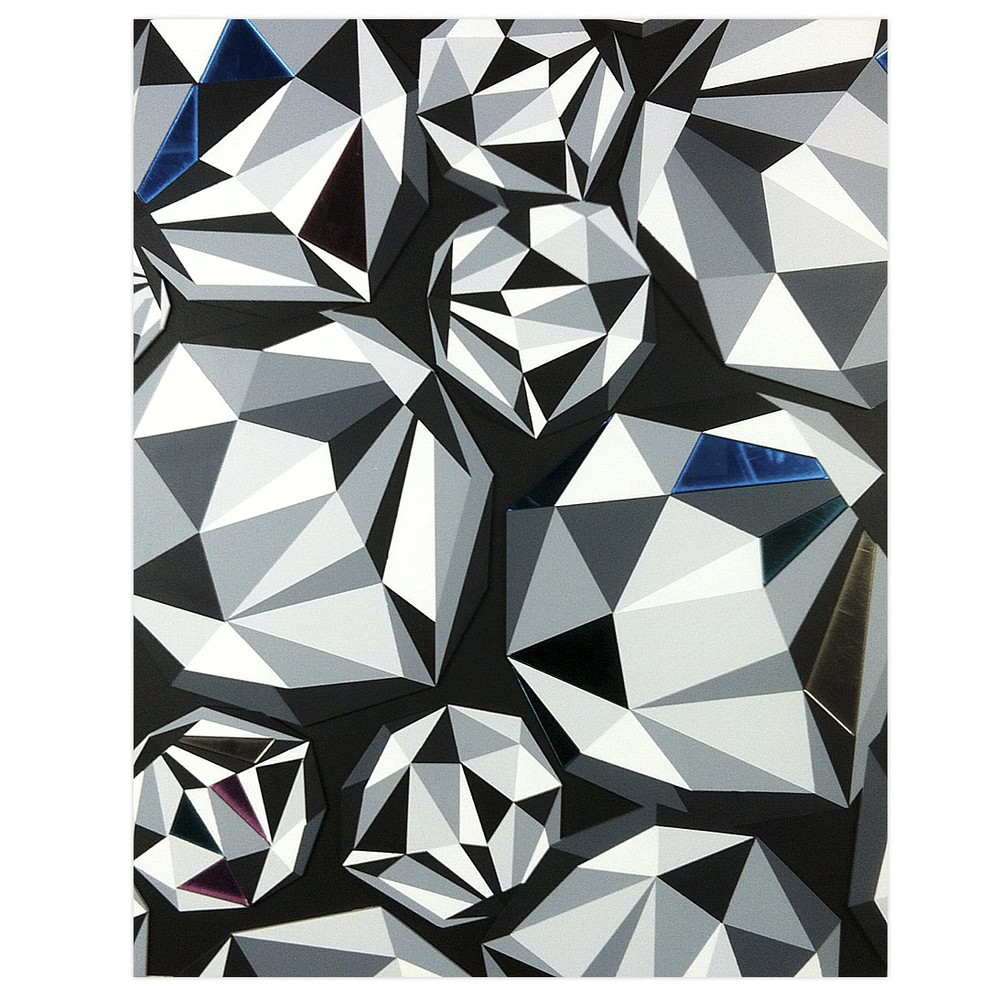 Naturel Diamond Cluster 1 16 x 20 Inches Aerosol and acrylic on cradled wood panel  $1,650