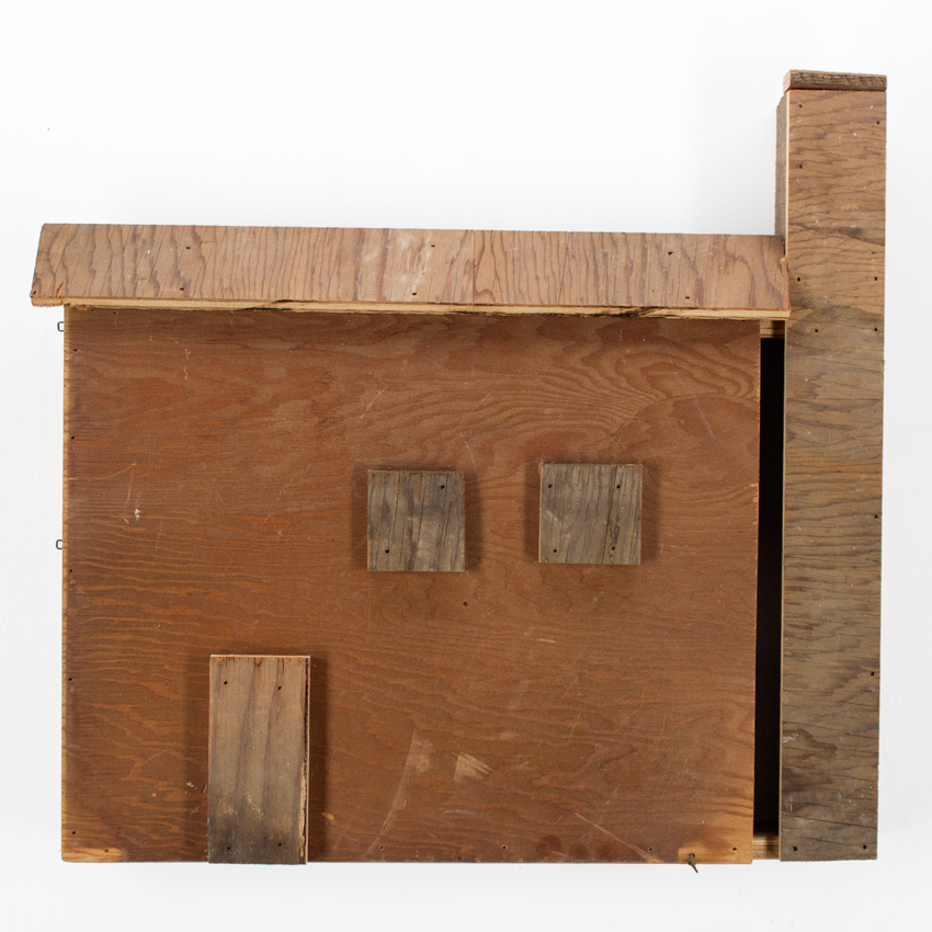 57. Zak Meers Foreclosed House 18x16.5 scrapped wood $500 -  Inquire  - Purchase directly on 1xRUN