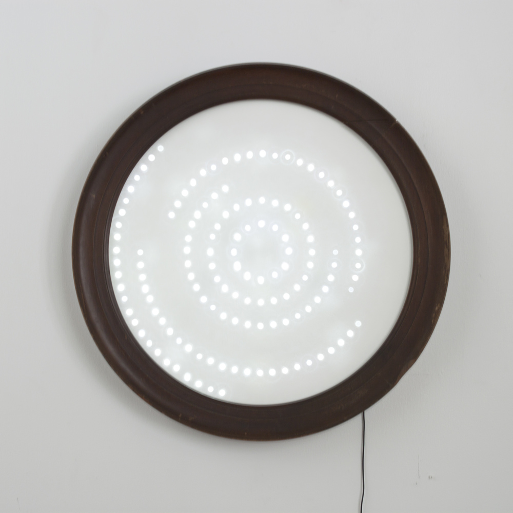 "Orbital Lamp 37"" Diameter Light Sculpture SOLD"