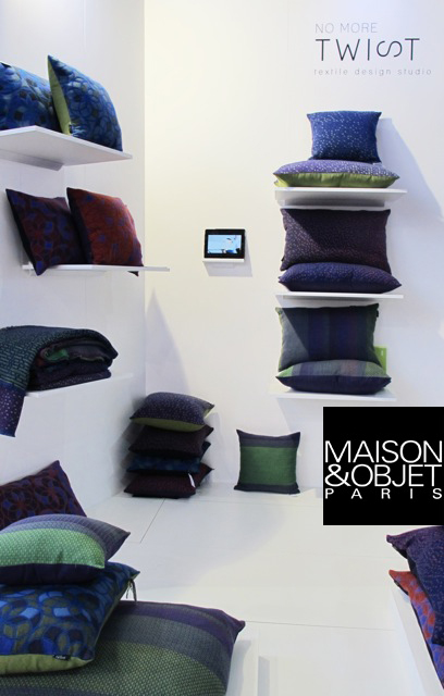 Maison&Objets , Paris. Section Now! Design à vivre/ stand Belgium is design 09/2013