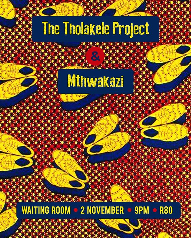 This gig is gonna be awesome! Everyone should definitely come. So excited to share the stage with Mthwakazi #livemusic #afrofolk #thewaitingroom #xhopera